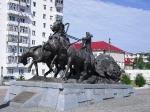 Якутия глазами Кирилла Ляпишева :: Ленск. Памятник первопроходцам